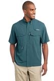 Eddie Bauer Short Sleeve Performance Fishing Shirt Gulf Teal Thumbnail