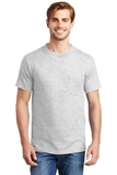 Beefy-t 100 Cotton T-shirt With Pocket Ash Thumbnail