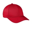 Snapback Fine Twill Cap Red Thumbnail