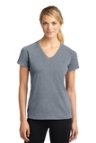 Women's Ultimate Performance V-neck Heather Grey Thumbnail