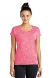 Women's Electric Heather Sporty Tee Power Pink Electric Thumbnail