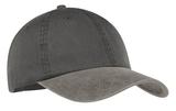 2-tone Pigment-dyed Cap Black with Pebble Thumbnail