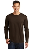 Long Sleeve Perfect Weight District Tee Espresso Thumbnail