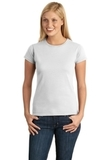 Women's Softstyle Ring Spun Cotton T-shirt White Thumbnail