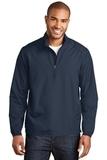 Zephyr 1/2-Zip Pullover Dress Blue Navy Thumbnail