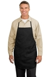 Full Length Apron Black Thumbnail