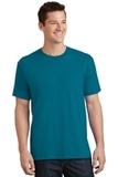 5.5-oz 100 Cotton T-shirt Teal Thumbnail