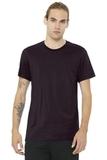 BELLACANVAS Unisex Jersey Short Sleeve Tee Oxblood Black Thumbnail