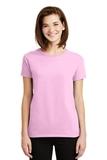 Women's Ultra Cotton 100 Cotton T-shirt Light Pink Thumbnail