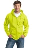 Tall Ultimate Full-zip Hooded Sweatshirt Safety Green Thumbnail