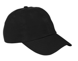 Washed Twill Cap Black Thumbnail