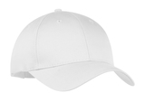 6-panel Twill Cap White Thumbnail