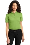 Women's Dry Zone Ottoman Polo Shirt Green Oasis Thumbnail