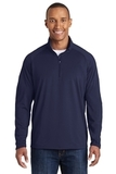 Tall Sport-wick Stretch 1/2-zip Pullover True Navy Thumbnail