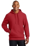 Super Heavyweight Pullover Hooded Sweatshirt Red Thumbnail