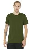 BELLACANVAS Unisex Jersey Short Sleeve Tee Olive Thumbnail