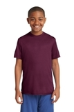 Youth Competitor Tee Maroon Thumbnail