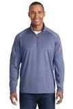 Sport-wick Stretch 1/2-zip Pullover True Navy Heather Thumbnail