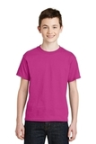 Youth Ultra Blend 50/50 Cotton / Poly T-shirt Heliconia Thumbnail