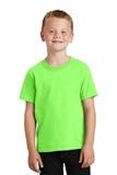Youth 5.5-oz 100 Cotton T-shirt Neon Green Thumbnail