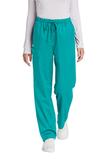 WonderWink Women's Petite WorkFlex Cargo Pant Teal Blue Thumbnail