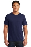 50/50 Cotton / Poly T-shirt Navy Thumbnail