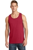 5.4 oz. 100% Cotton Tank Top Red Thumbnail
