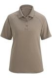 Women's Edwards Tactical Snag-proof Short Sleeve Polo Silver Tan Thumbnail