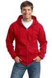 Tall Ultimate Full-zip Hooded Sweatshirt Red Thumbnail