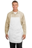 Full Length Apron White Thumbnail