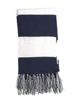 Spectator Scarf True Navy with White Thumbnail