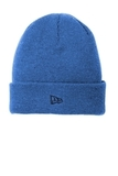 New Era Speckled Beanie Royal with Black Thumbnail