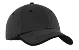 Vintage Washed Contrast Stitch Cap Charcoal with Black Thumbnail