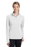 Women's Textured 1/4-Zip Pullover White Thumbnail
