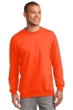 Crewneck Sweatshirt Safety Orange Thumbnail