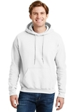 Ultrablend Pullover Hooded Sweatshirt White Thumbnail