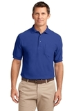 Silk Touch Polo Shirt With Pocket Royal Thumbnail