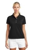Women's Nike Golf Shirt Tech Basic Dri-FIT Polo Black Thumbnail