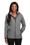 Women's Torrent Waterproof Jacket Dark Grey Heather Thumbnail