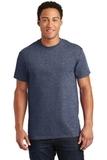 Ultra Cotton 100 Cotton T-shirt Heathered Navy Thumbnail