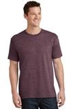 5.5-oz 100 Cotton T-shirt Heather Athletic Maroon Thumbnail