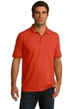 Port Company Tall 5.5-ounce Jersey Knit Polo Orange Thumbnail