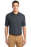 Tall Sized Silk Touch Polo Shirt Steel Grey Thumbnail
