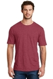 Men's Perfect Blend Crew Tee Heathered Red Thumbnail