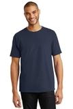 Tagless 100 Comfortsoft Cotton T-shirt Navy Thumbnail
