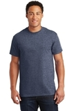 Ultra Cotton 100 Cotton T-shirt Heathered Navy Thumbnail