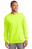 Tall Ultimate Crewneck Sweatshirt Safety Green Thumbnail