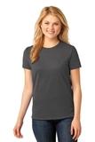 Women's 5.4-oz 100 Cotton T-shirt Charcoal Thumbnail
