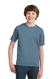 Youth Essential T-shirt Stonewashed Blue Thumbnail