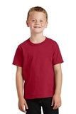 Youth 5.5-oz 100 Cotton T-shirt Red Thumbnail